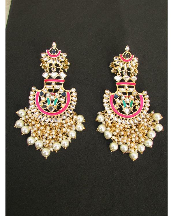 Multicolour Pearl Earrings 1