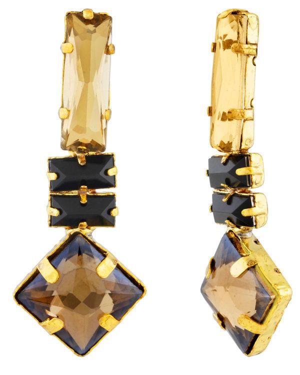 Geometric Mandala Earrings 1