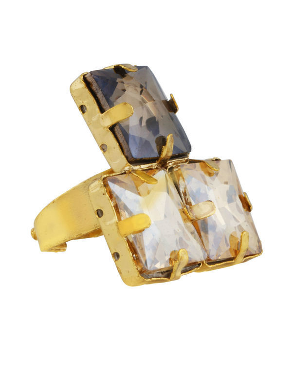 Smoky Quartz Statement Ring 2