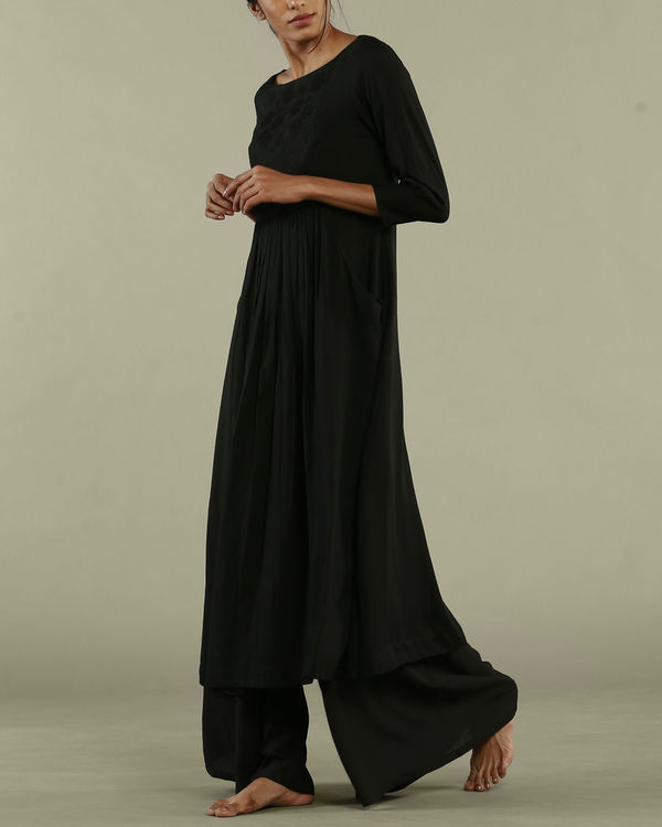 Black dress style tunic 2