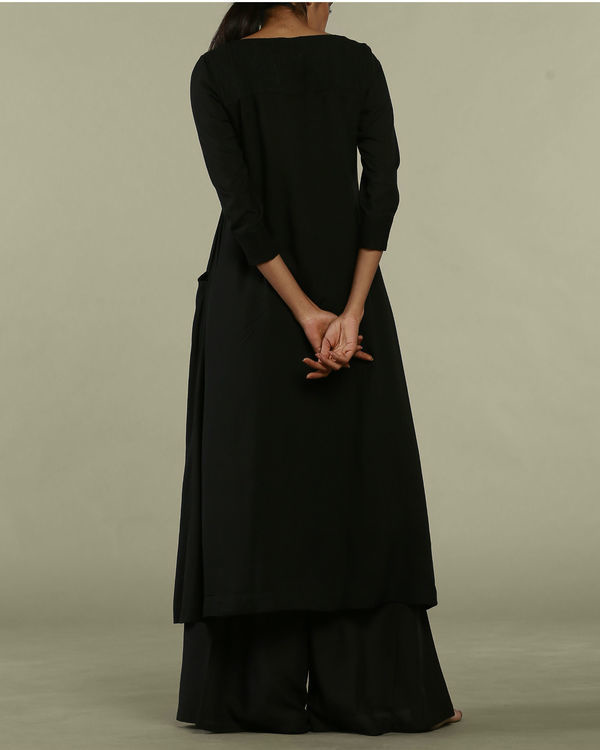 Black dress style tunic 1
