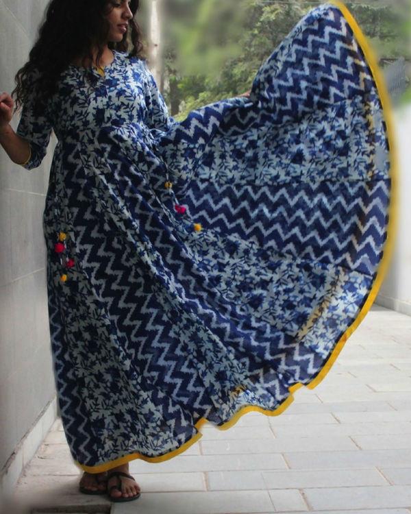 Celestial blue dress 3