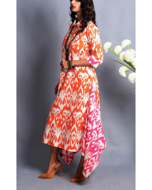 Patola drape dress 2