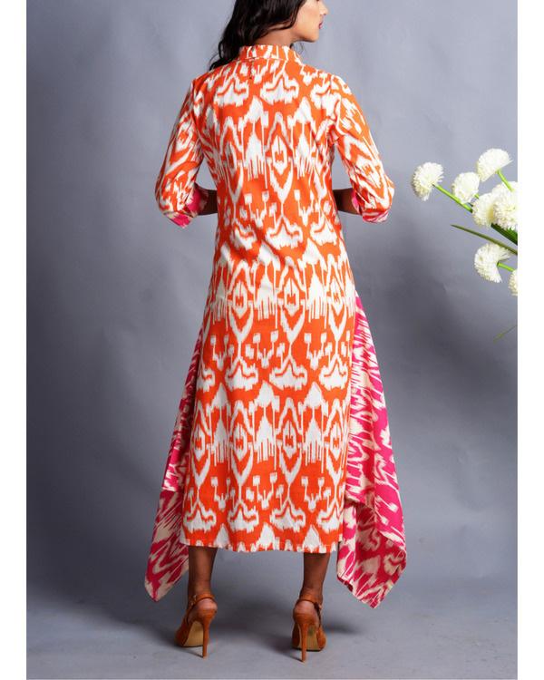 Patola drape dress 1