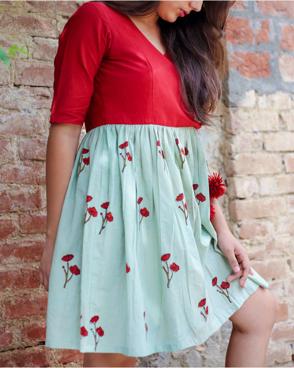 Opium poppy angrakha dress 2