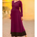 Thumb e 9 deep pink fine cut maternity dress8 3cbf2ac4 5d7d 4087 afa7 c0c2f26392e0 large
