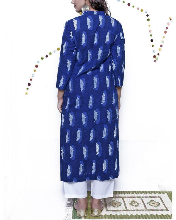Indigo croc tunic 1