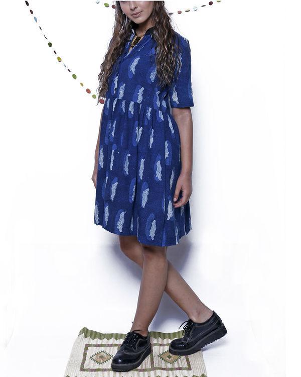 Indigo croc dress 2
