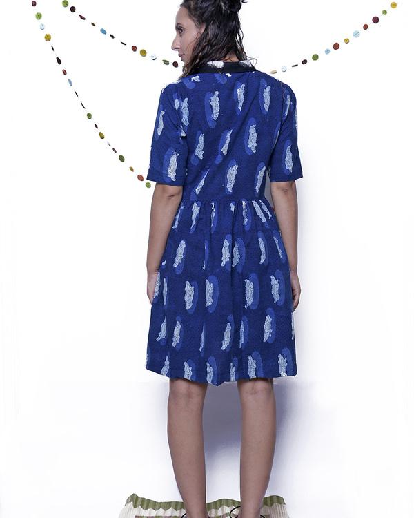 Indigo croc dress 1