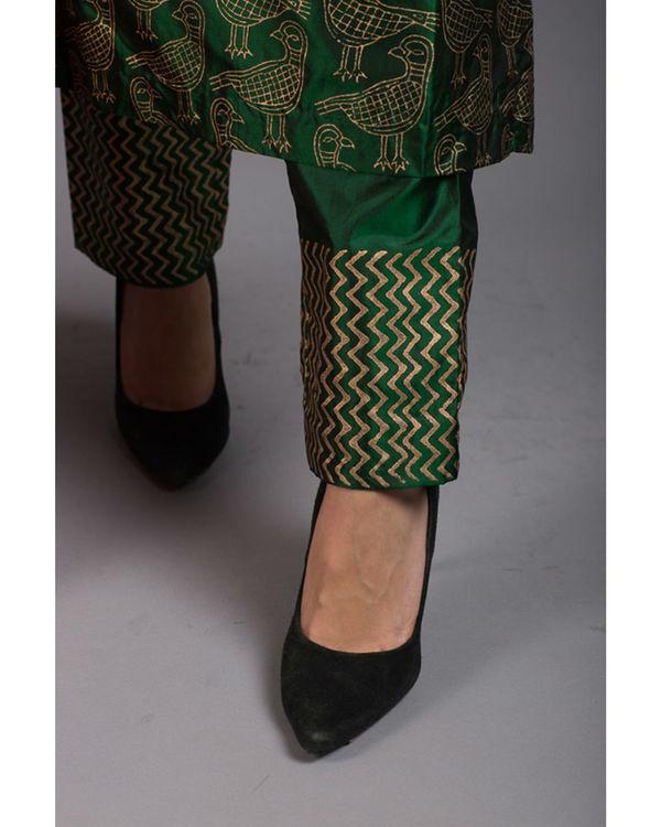 Peridot kabutar printed kurta set 1