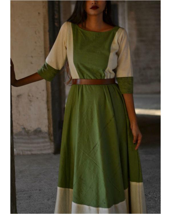 Green side dress 1