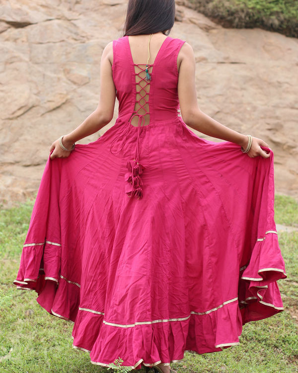 Gulabo flared dress 2
