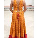 Thumb haldi chandan bagh print cotton flared dress  5