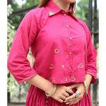 Thumb gulaabo cotton crop shirt online at bebaakstudio  4