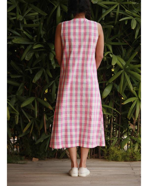Candy pink khadi tunic 2