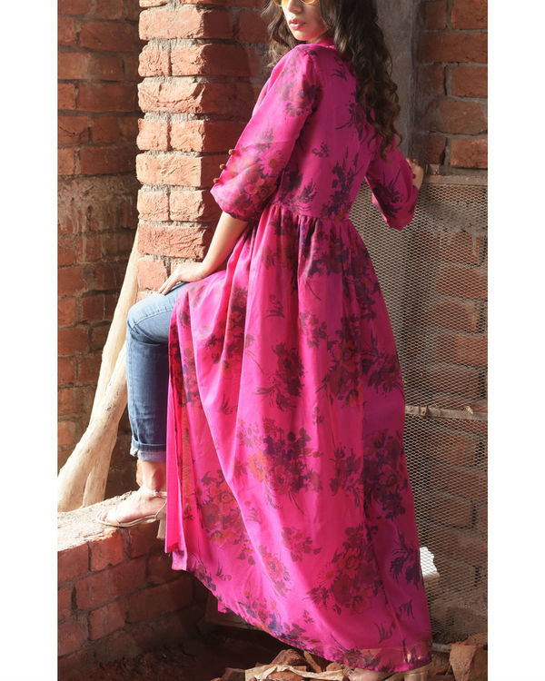 Candy printed cape 1