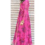 Thumb fuscia angarkha dress 3