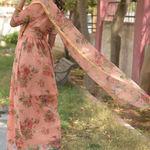 Thumb peach drape dress 2
