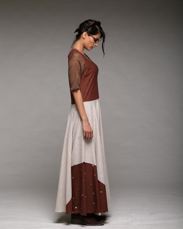 Linen cotton maxi dress 2