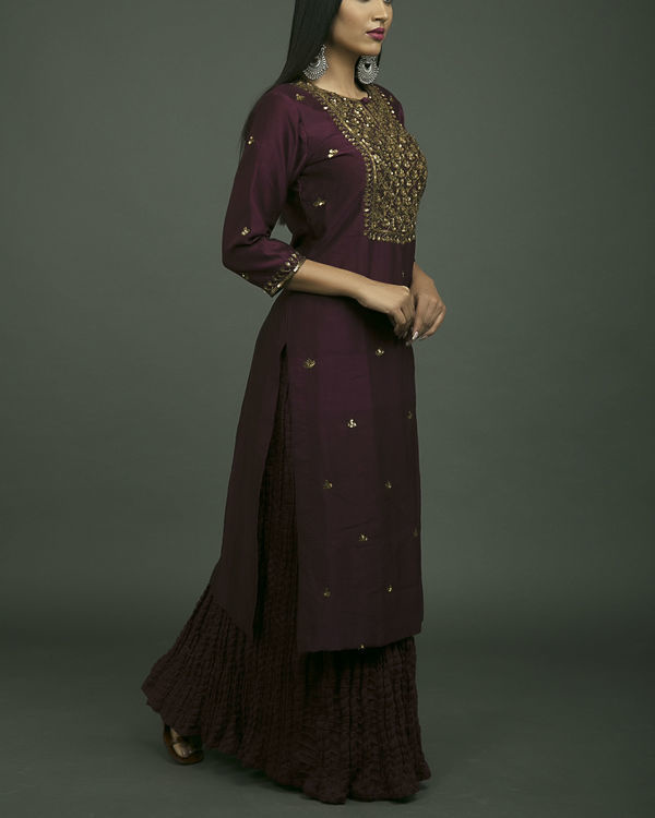 Jahanara embroidered kurta set 2