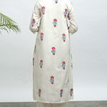 Thumb koi hand block printed kurta pants set 3