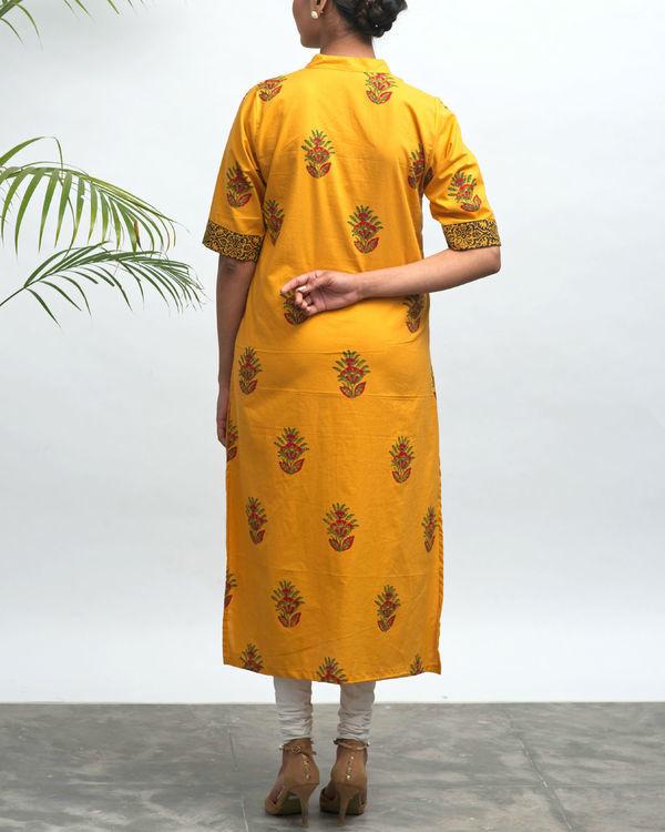 Kriya hand block printed kurta 2