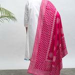 Thumb maharani kurta pants dupatta set 3