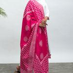 Thumb maharani kurta pants dupatta set 2