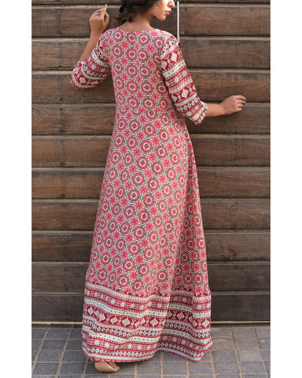 Rose pink mughal set 1