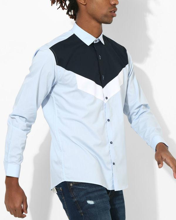 Shades of blue Shirt 2