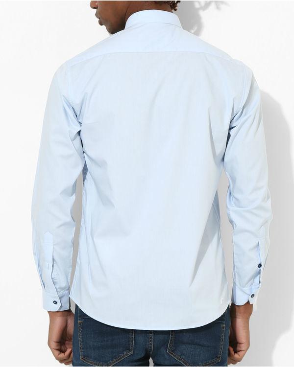 Shades of blue Shirt 1