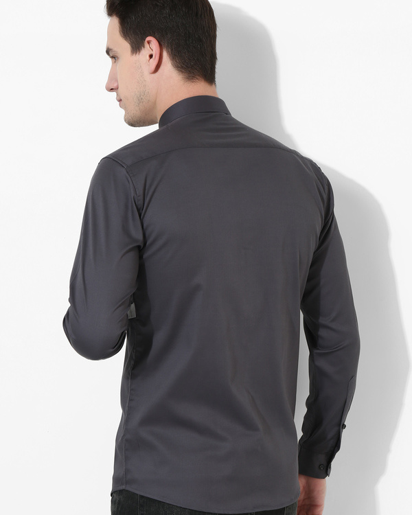 Panel Grey Three Stripes shirt 2