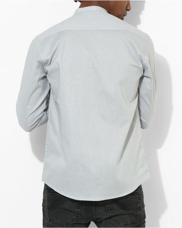 Light Grey Two Stripe shirt 1