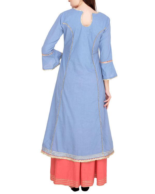 Blue and pink princess tunic set 3