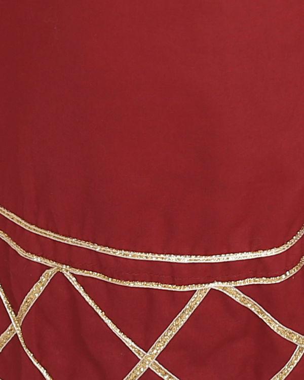 Marsala tunic with palazzo 1