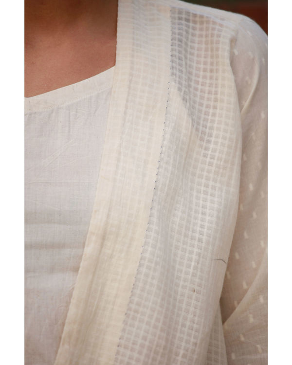 Raw cotton dobby wrap 3