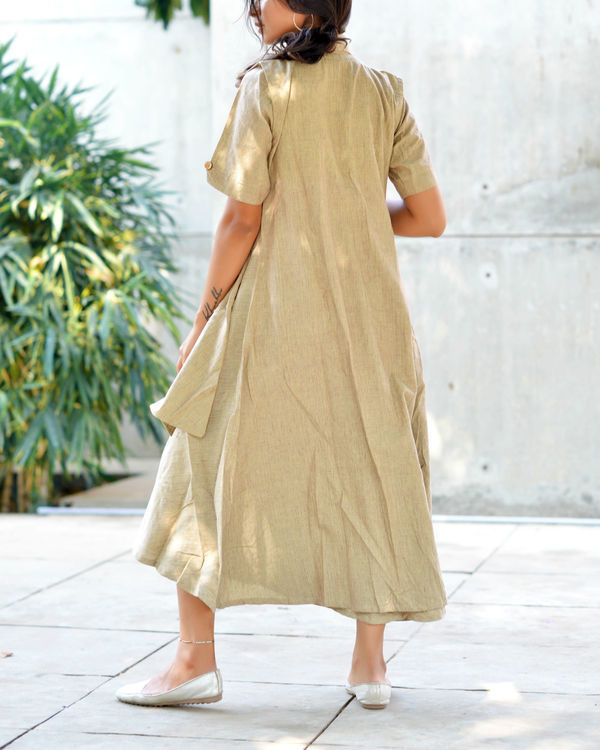 Double layer sand tunic 1