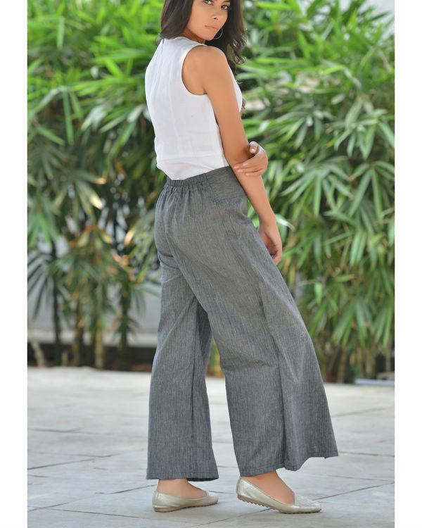 Grey palazzo pants 2