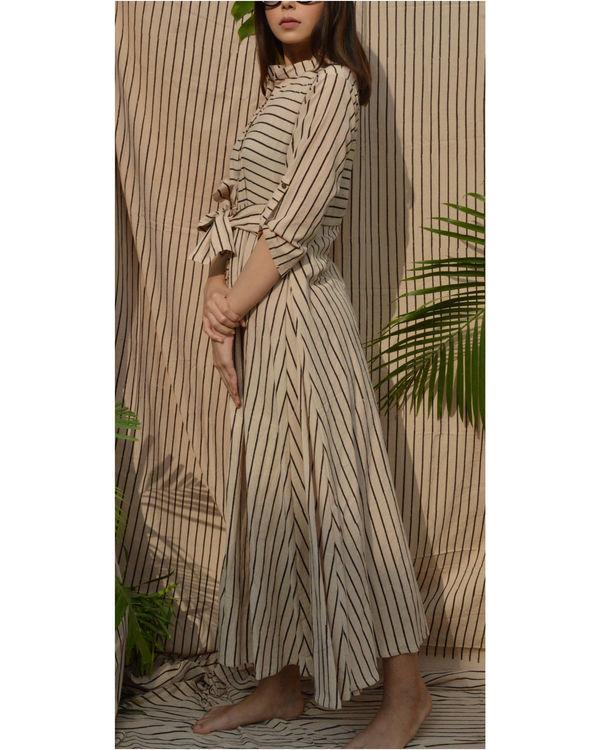 Off-white striped shirt dress 2