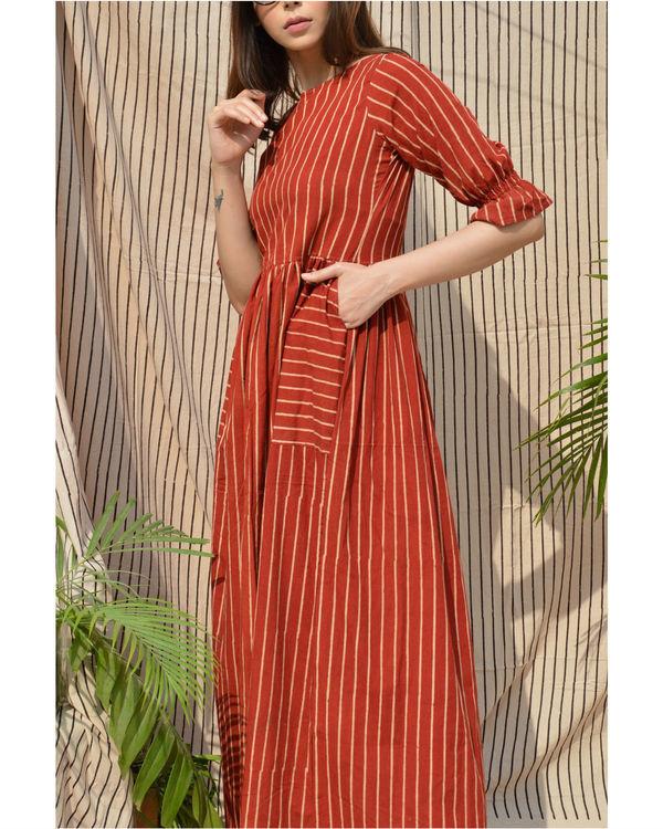 Bold  striped dress 2