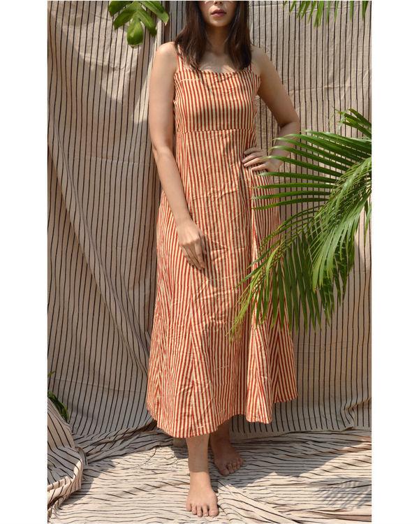 Striped summer dress 2