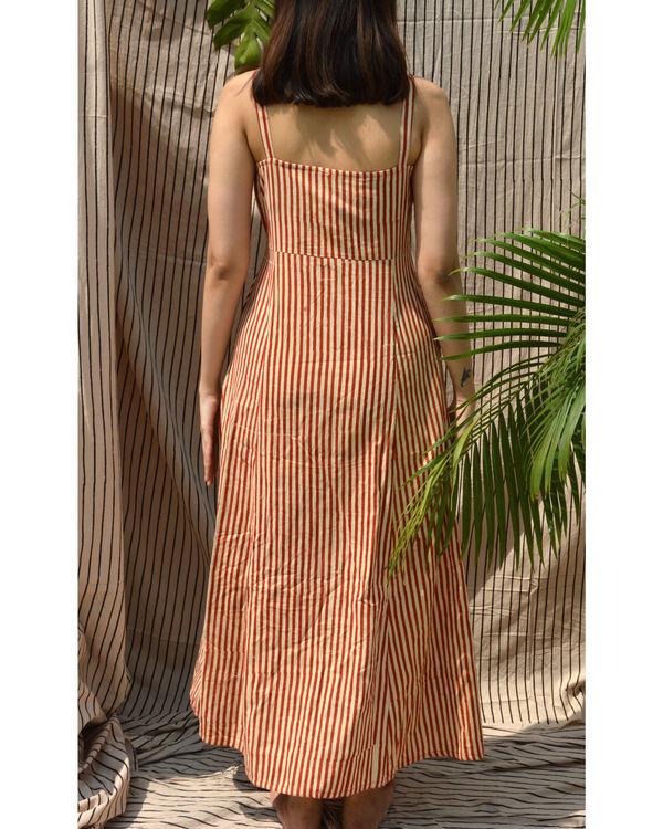 Striped summer dress 1