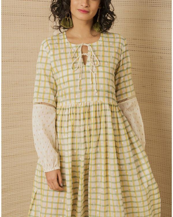 Hand Block Peasant Dress 2