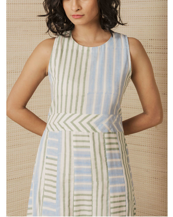 Hand-woven Pool Dress 1