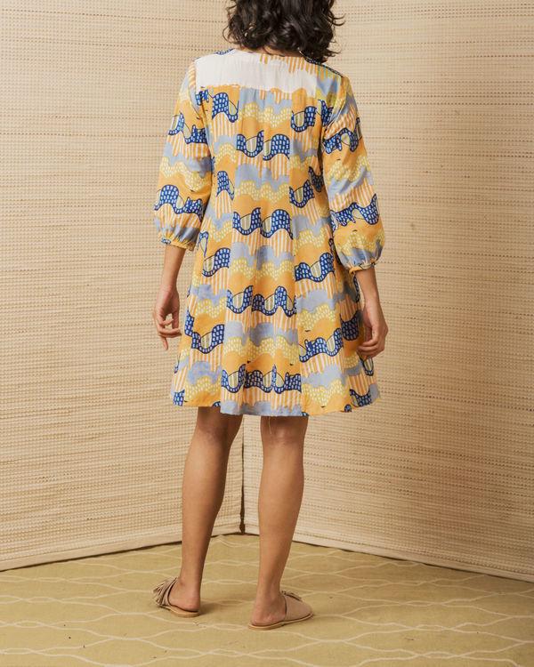 Wave Print Dress 2