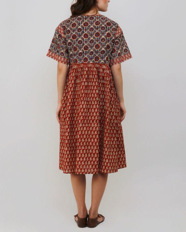 Red Jhabba Dress 2