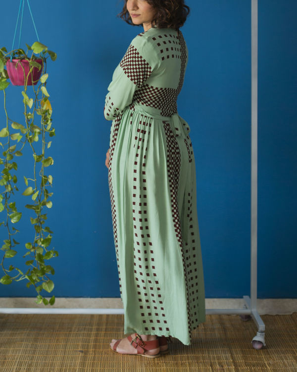 Mint Green Brunch Dress 2