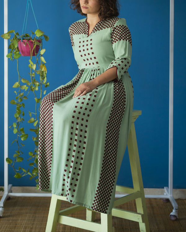 Mint Green Brunch Dress 1